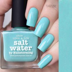 SALT WATER Collaboration Picture Polish