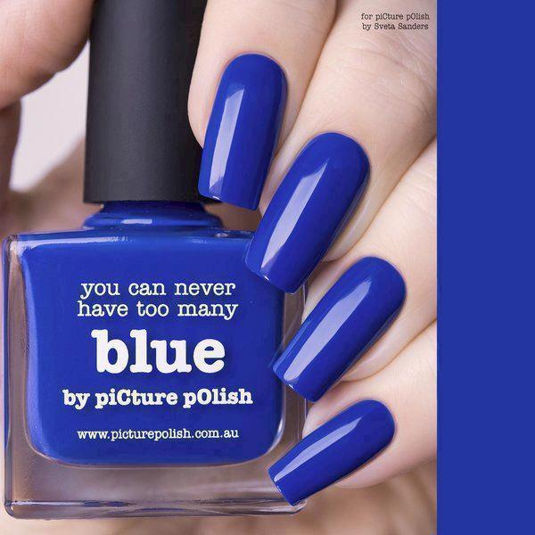 Image of BLUE, Classic, Picture Polish (u)