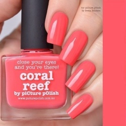 CORAL REEF Classic Picture Polish