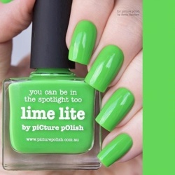 LIME LITE Classic Picture Polish
