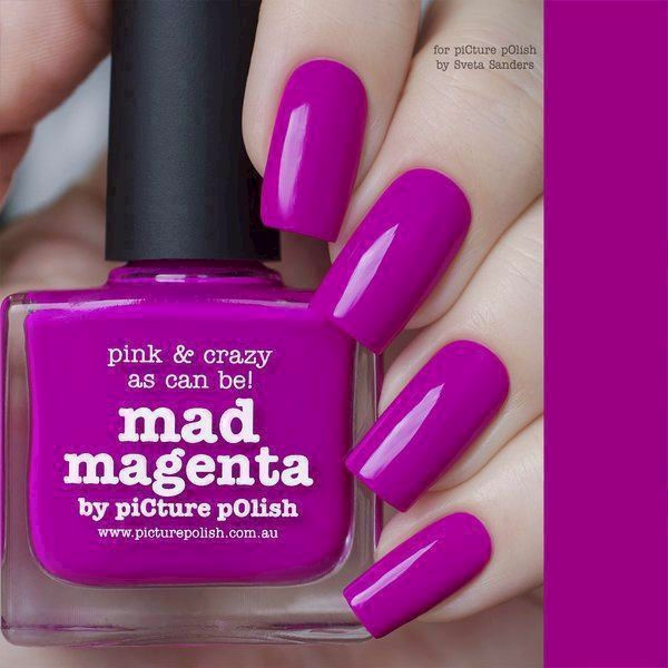 Image of   MAD MAGENTA, Classic, Picture Polish