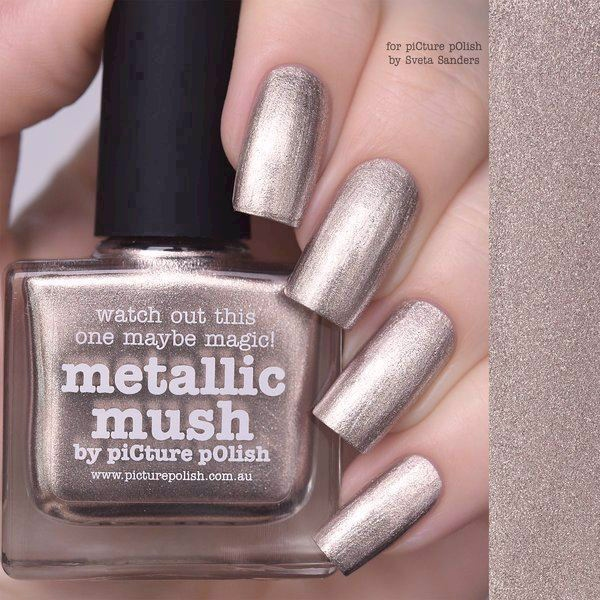 Image of   METALLIC MUSH, Classic, Picture Polish