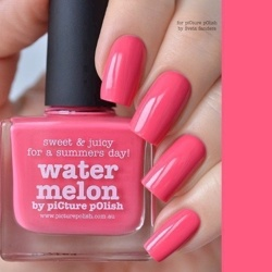 WATERMELON Classic Picture Polish
