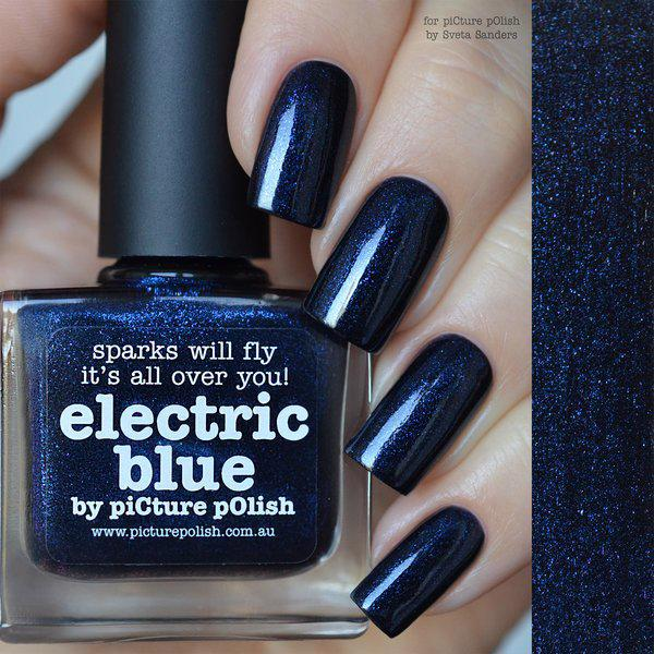 Image of   ELECTRIC BLUE, Picture Polish