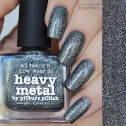 HEAVY METAL Picture Polish