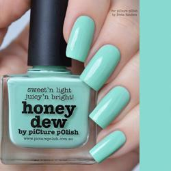 HONEY DEW Picture Polish