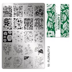 Stamping Plate NO. 10 Florality 2 Moyra