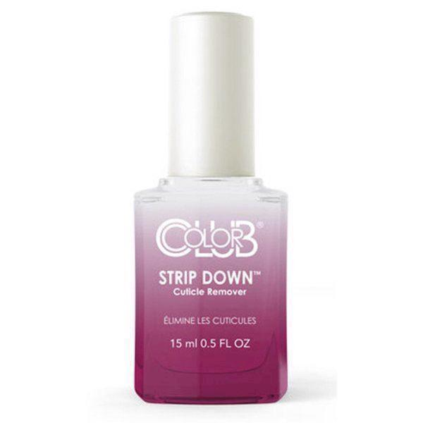Strip Down Cuticle Remover, Color Club Protect Series