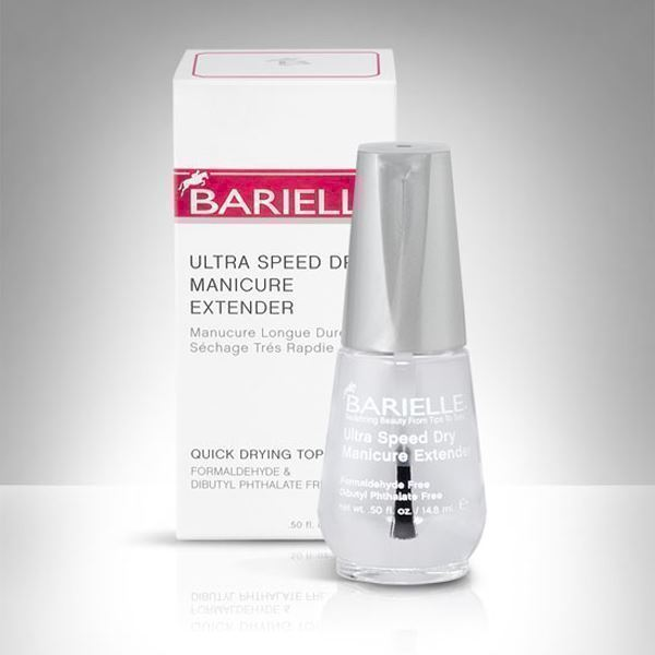 Ultra Speed Dry Manicure Extender topcoat, Barielle