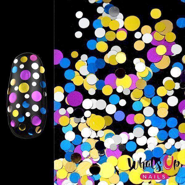 Image of   Disco Confetti, Whats up nails