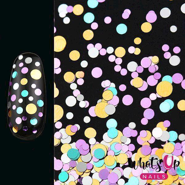 Image of   Neapolitan Confetti, Whats up nails