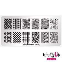 B026 Fashion Prints Whats up Nails