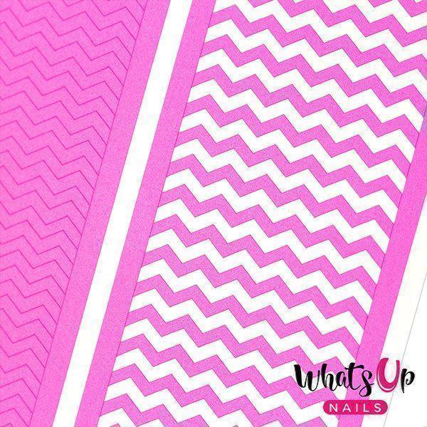 Image of   Regular Zig Zag Tape, Whats up Nails