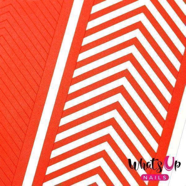 Image of   Regular Chevron Tape, Whats Up Nails