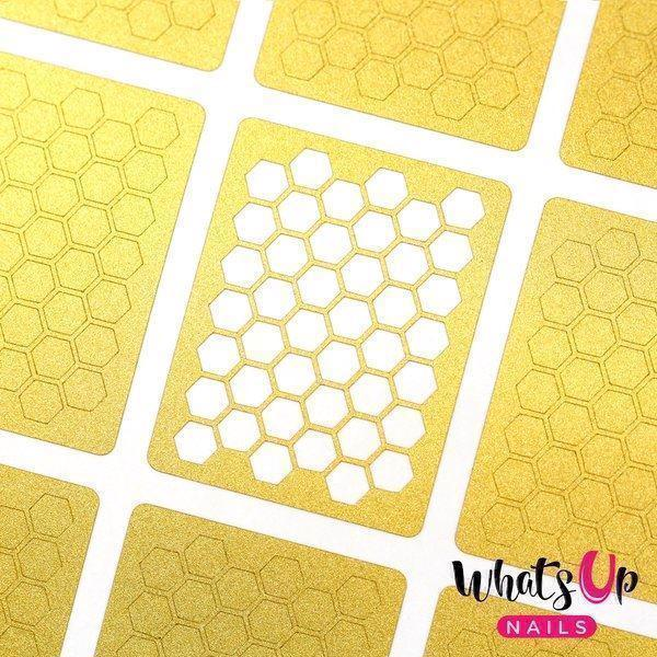 Image of   Honeycomb Stencils, Whats Up Nails