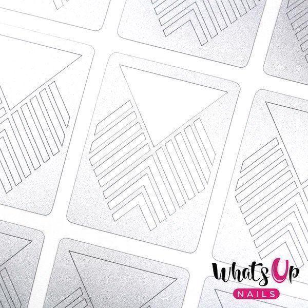 Image of   Art Deco Stencils, Whats Up Nails