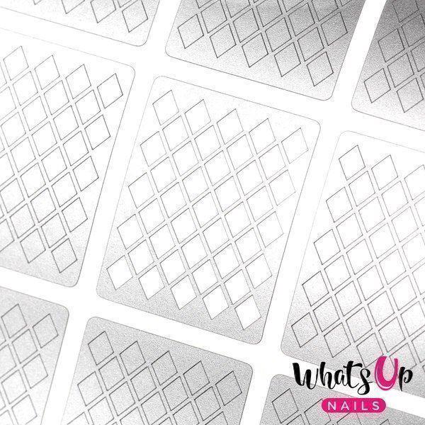 Image of   Diamond Pattern Stencils, Whats Up Nails