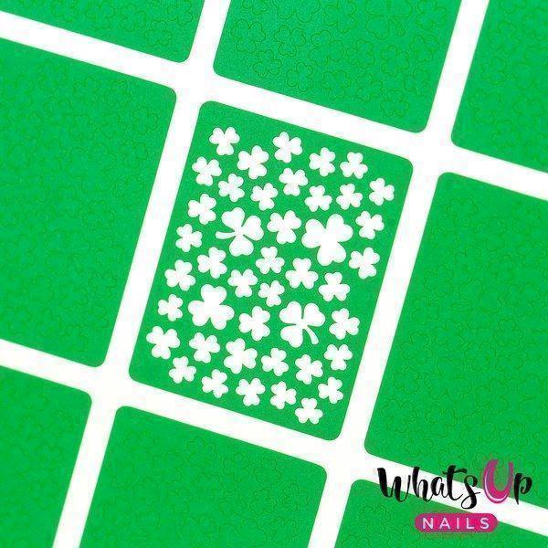 Image of   Clover Field Stencils, Whats Up Nails