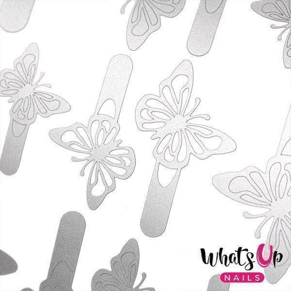 Image of   Butterflies Stencils, Whats up Nails