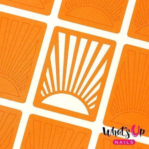 Image of   Sunrise Stencils, Whats Up Nails