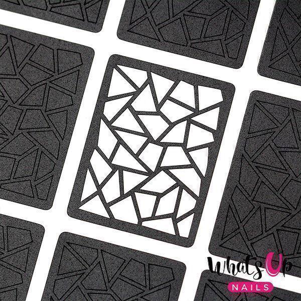Image of   Mosaic Stencils, Whats up Nails