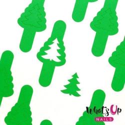Pine Tree Stencils Whats Up Nails