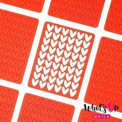 Knitting Stitches Stencils Whats Up Nails