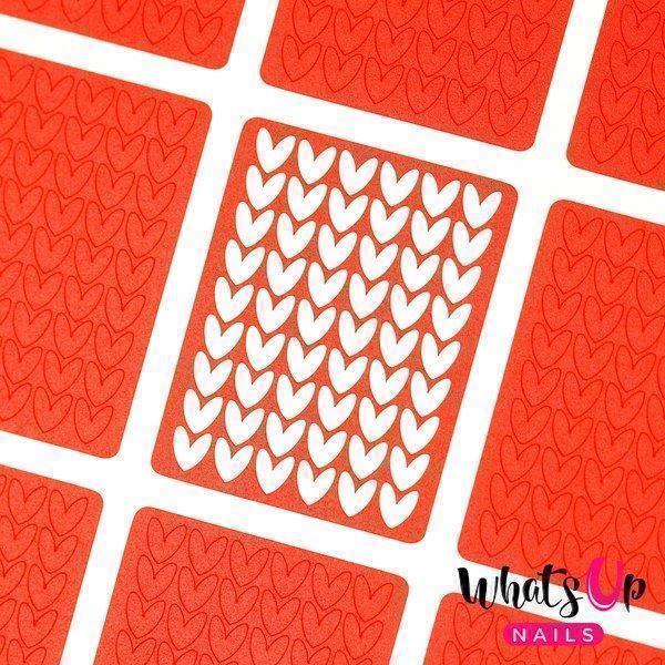 Image of   Knitting Stitches Stencils, Whats Up Nails