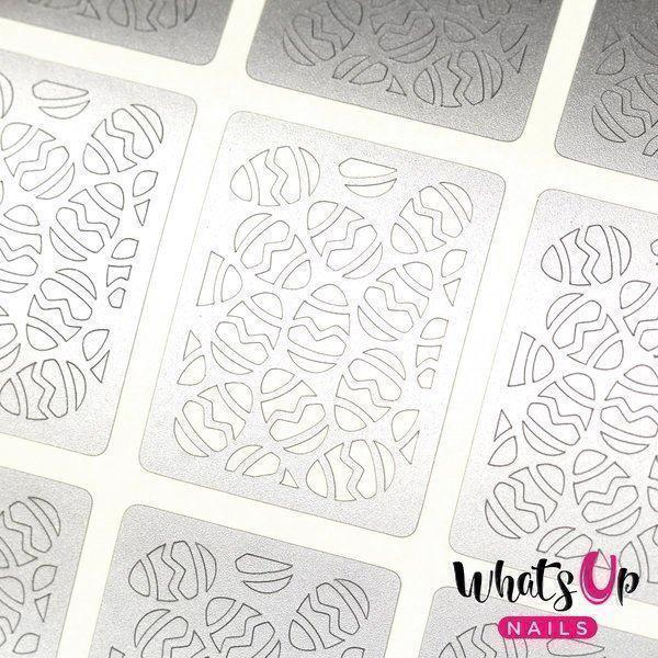 Image of   Eggs Stencils, Whats Up Nails