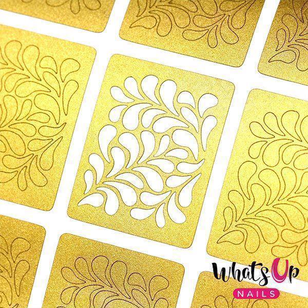 Image of   Floral Splash Stencils, Whats up Nails