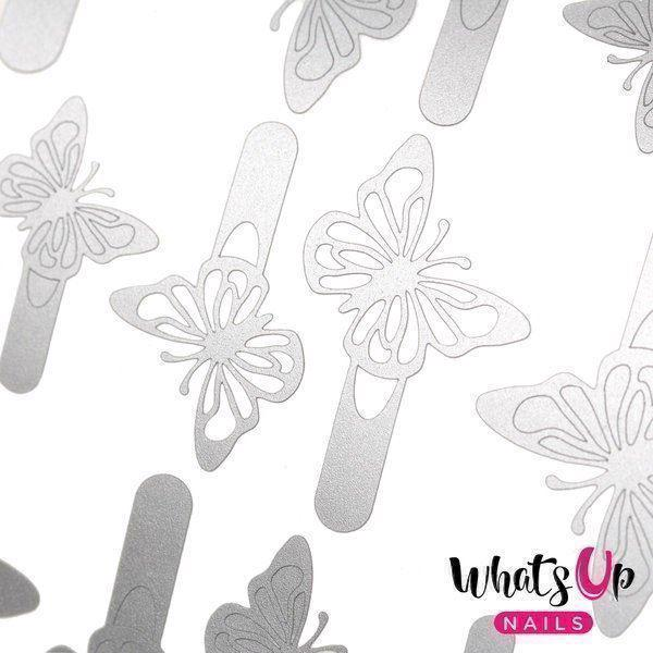 Image of   Butterfly Wings Stencils, Whats Up Nails
