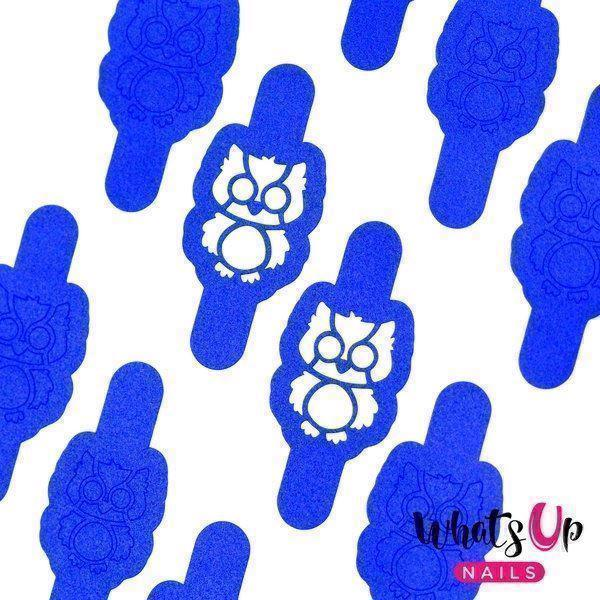 Image of   Owl Stencils, Whats Up Nails