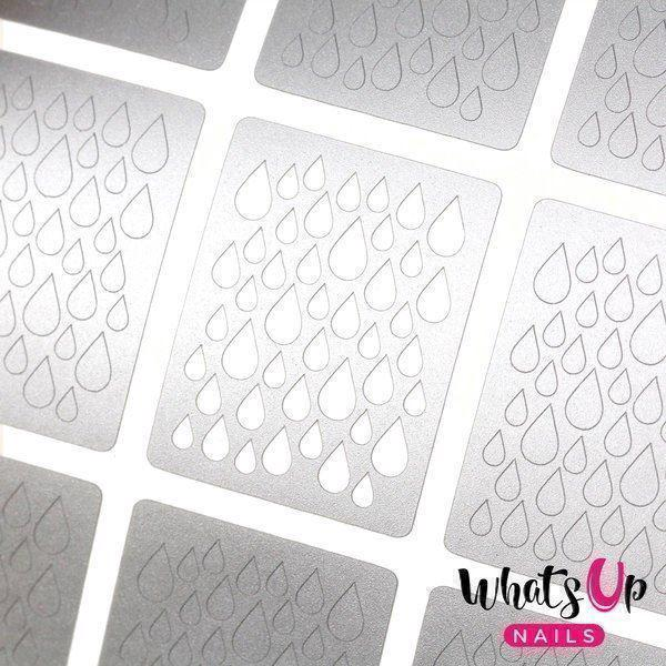 Image of   Rain Stencils, Whats Up Nails