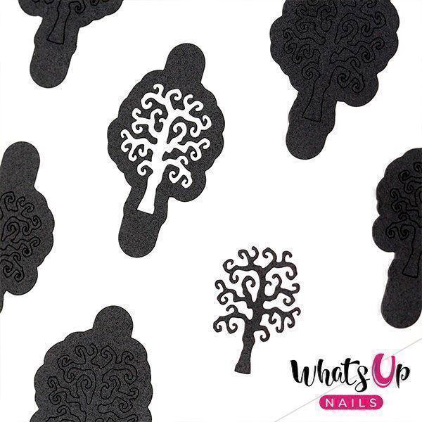 Image of   Scary Tree Stencils, Whats up Nails