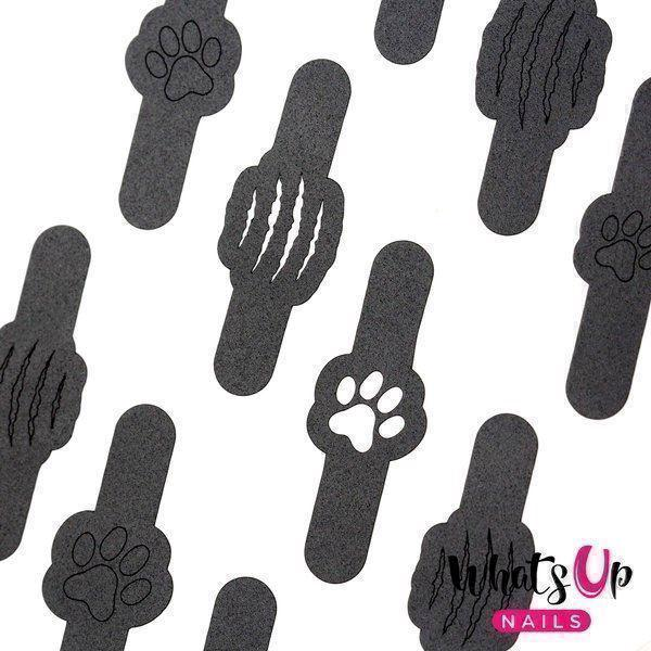 Image of   Kitty Scratch Stencils, Whats Up Nails
