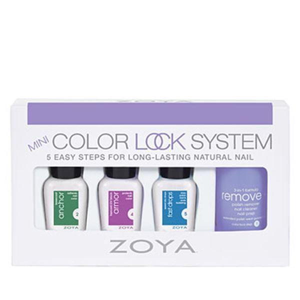 Image of Mini sæt med Zoya Color Lock system, Zoya