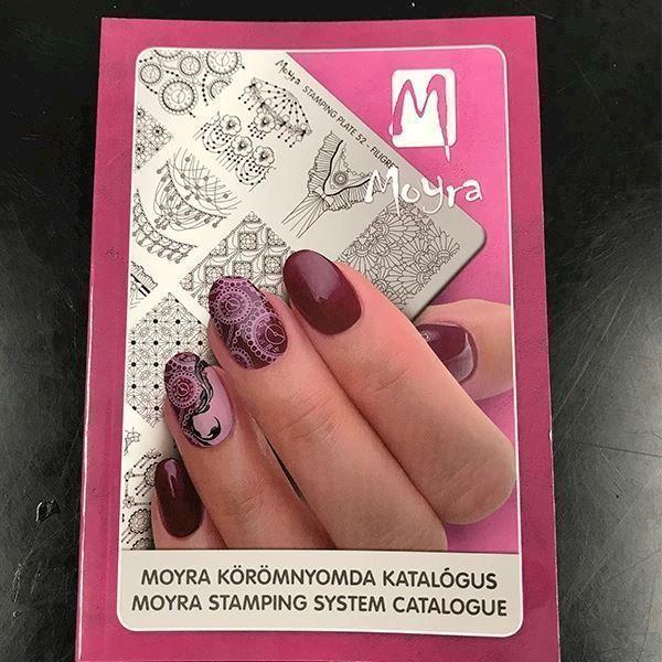 Image of   Moyra stamping Katalog, Inspiration til din næste manicure