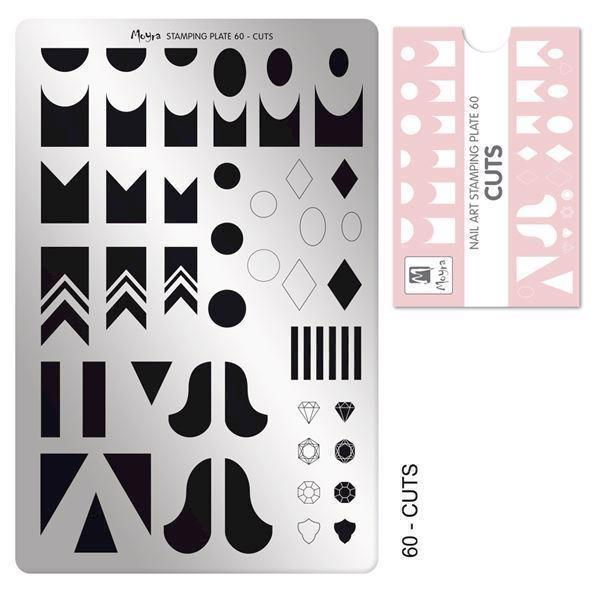Image of   Cuts NO. 60, Moyra stamping plate