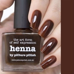 HENNA Picture Polish