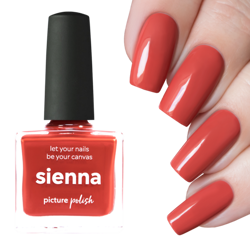 SIENNA, Mystery Polish, Picture Polish