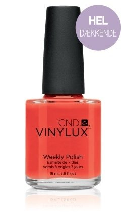 Electric Orange CND Vinylux Paradise Collection